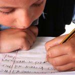 escritura niño asperger